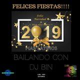 Dj Bin - Felices Fiestas 2019 Con Dj Bin (Mas Latinos)