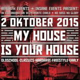 Buzz Fuzz & Baba @ My House is Your House * Live set * 02-10-2015