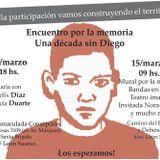 Informe a 10 años de la Desaparicion de Diego Duarte