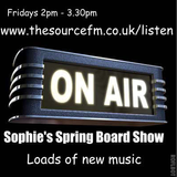 Sophie's Spring Board Show 4 May 2018 with great new tunes