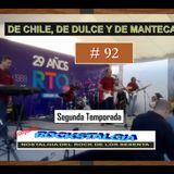 De Chile, de Dulce y de Manteca 92 - 2 de octubre de 2017