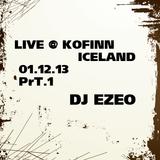 DJ Ezeo - Live at kofinn, Iceland 01.12.13 Pt.1