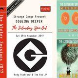 WE DIG DEEPER #Cassette Fourteen 25.11.17 Andy Hickford & The Rev JP