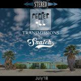 Transmissions @ Pepper 96.6 (July '18) by DJ Snatch