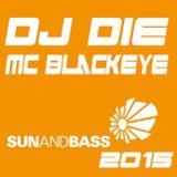 Dj Die & Mc Blackeye @ SunandBass - 2015
