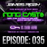 James Rigby Pres. The Rongcast - Episode 035 on Afterhours FM - 19/06/2013
