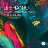 DJ SHANTO | ECSTATIC DANCE AMSTERDAM | 26 AUGUST 2014