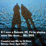 If I Was A Balearic Dj 005