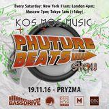 Phuture Beats Show November 19th 2016 hosted by Pryzma @ Bassdrive.com