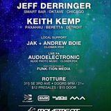 Techno DJ set-Live @ Rotture (Portland, OR) 2015