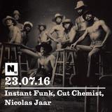 Nómada (23.07.2016): Instant Funk, Cut Chemist, Nicolas Jaar