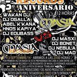 Hermanos kapiya en Masia - 3ª Aniversario Masia Records, 14-09-14