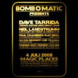 Paul Chambers @ Bomb O Matic - Magic Places Antwerpen - 04.07.2008
