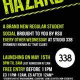 "Subtronik's Mix for ""Hazard's"" launch night"