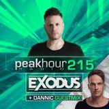 Peakhour Radio #215- Exodus w/Dannic (Sept 27th 2019)