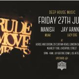 Rude Movements  summer mix/ Rude Movements Fri 27th June