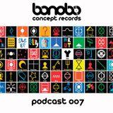 Bonobo Concept Podcast 007 mixed by DENNY DAGOSTA