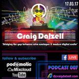 Craig Dalzell Facebook Live Podcast 007 (DJ Tizer Hardcore Vinyl Special)