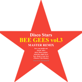 minimix BEE GEES vol.3 MASTER REMIX (love you inside out,stayin' alive,more than woman) disco stars