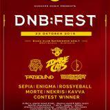 Bassing contest mix - DNB:FEST Autumn 2015 w. Zombie Cats