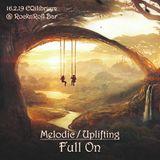 Melodic / Uplifting Full On - 16.2.19 @ RocknRoll Bar Karlsruhe