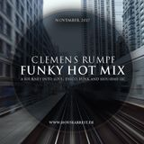 CLEMENS RUMPF - FUNKY HOT MIX NOVEMBER 2017 (www.housearrest.de)