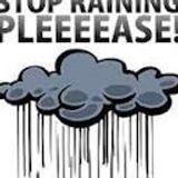 Finally stopped raining