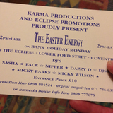 DJ Nipper - The Eclipse Club, Coventry - The Easter Energy - April 1991