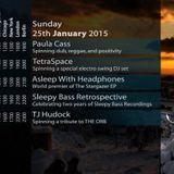 25-Jan-2015: Sleepy Bass Retrospective