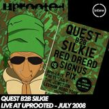 Quest b2b Silkie - Live at Uprooted, York - UK - 11 July 2008