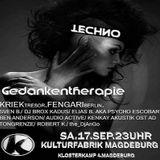 Kriek @ Gedankentherapie - Kulturfabrik Magdeburg - 17.09.2016