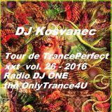 DJ Kosvanec (CZ) - Tour de TrancePerfect xxt vol.26-2016 (Uplifting Mix)