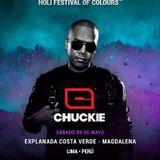 Chuckie @ Holi Festival Of Colours Lima (2015.05.09)