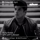 Rinse FM Podcast - Richy Ahmed w/ Skream + wAFF - 29th April 2016