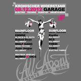 """Live Drum&Bass DJ-set at """"Kronischer Widerstand"""" (08.12.2012 @ Garage, Lüneburg) - Set 2"""