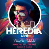 Angel Heredia @ Velvet Club 28-9-13