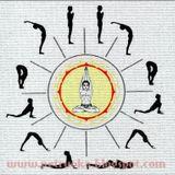 Surya Namaskar mantros