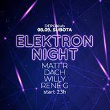 René G. - Elektron night @ Depo klub 08.09.2018
