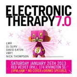 DJ Surv live @ Electronic Therapy 7.0 - RVL, NYC Jan 2013
