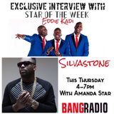 #BHMOnDrivetime with @MsAmandaStar - Interview w/ @EddieKadi & LIVE Jam Session w/ @SilvaStoneBeats