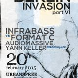 Berlin Invasion  Format c vs david green infrabass at urban spree 2015