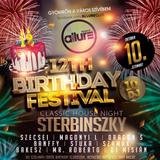 Club Allure Live - 2015.10.10. - Birthday Festival (10DJ) Classic House Night