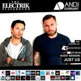 Electrik Playground 27/10/18 inc. Just Us Guest Mix