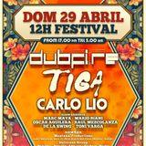Dubfire & Carlo Lio - Live @ Elrow Happy Sundays, Row14, Barcelona, Espanha (29.04.12)
