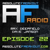 Max Deepfield & Dave Janson - Absolute Freakout: Episode 022 (03.10.2010)