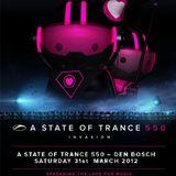W&W - A State Of Trance 550. (Live @ Green State Brabanthallen Den Bosch - Netherlands) 2012.03.31.