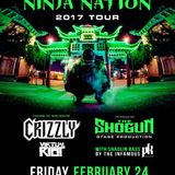Datsik @ Bogart's Cincinnati The Ninja Nation Tour, United States 2017-01-22