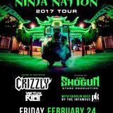 Datsik @ Bogart's Cincinnati The Ninja Nation Tour, United States 2017-01-22