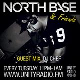 North Base & Friends show with special guest DJ'Chef Beatenforcer