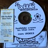 Babble Crew 10th Birthday Mix 2003